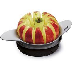 gefu tomaten--appelsnijder, edelstaal 18-10, »pomo« zwart