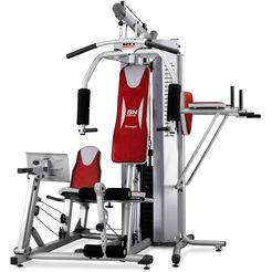 bh-fitness fitnessstation global gym plus rood