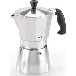 gefu espressoapparaat lucino voor 6 kopjes zilver