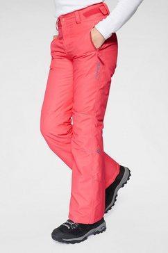 brunotti snowboardbroek »sahara girls« rood