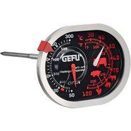 gefu braad--oventhermometer 3-in-1, edelstaal, »messimo« zilver