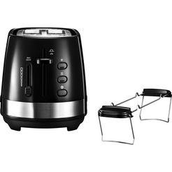 de'longhi »active line ctla2103.bk« toaster zwart