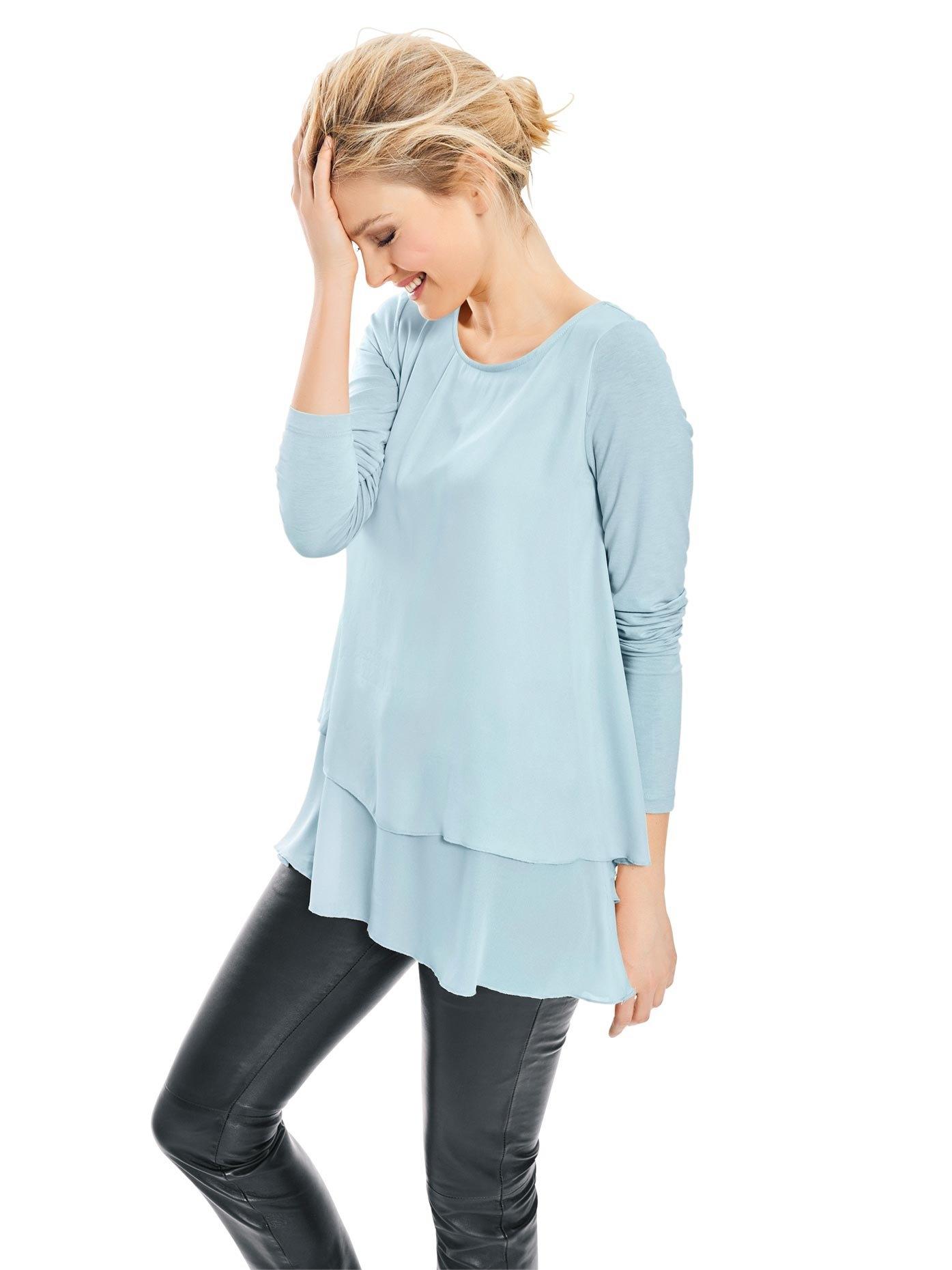 LINEA TESINI by Heine shirt met ronde hals veilig op otto.nl kopen