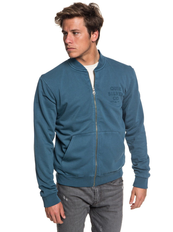 Quiksilver Sweater met rits in bomberjack stijl »Aso Plains« voordelig en veilig online kopen