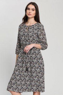 gerry weber gedessineerde jurk met animal-print zwart