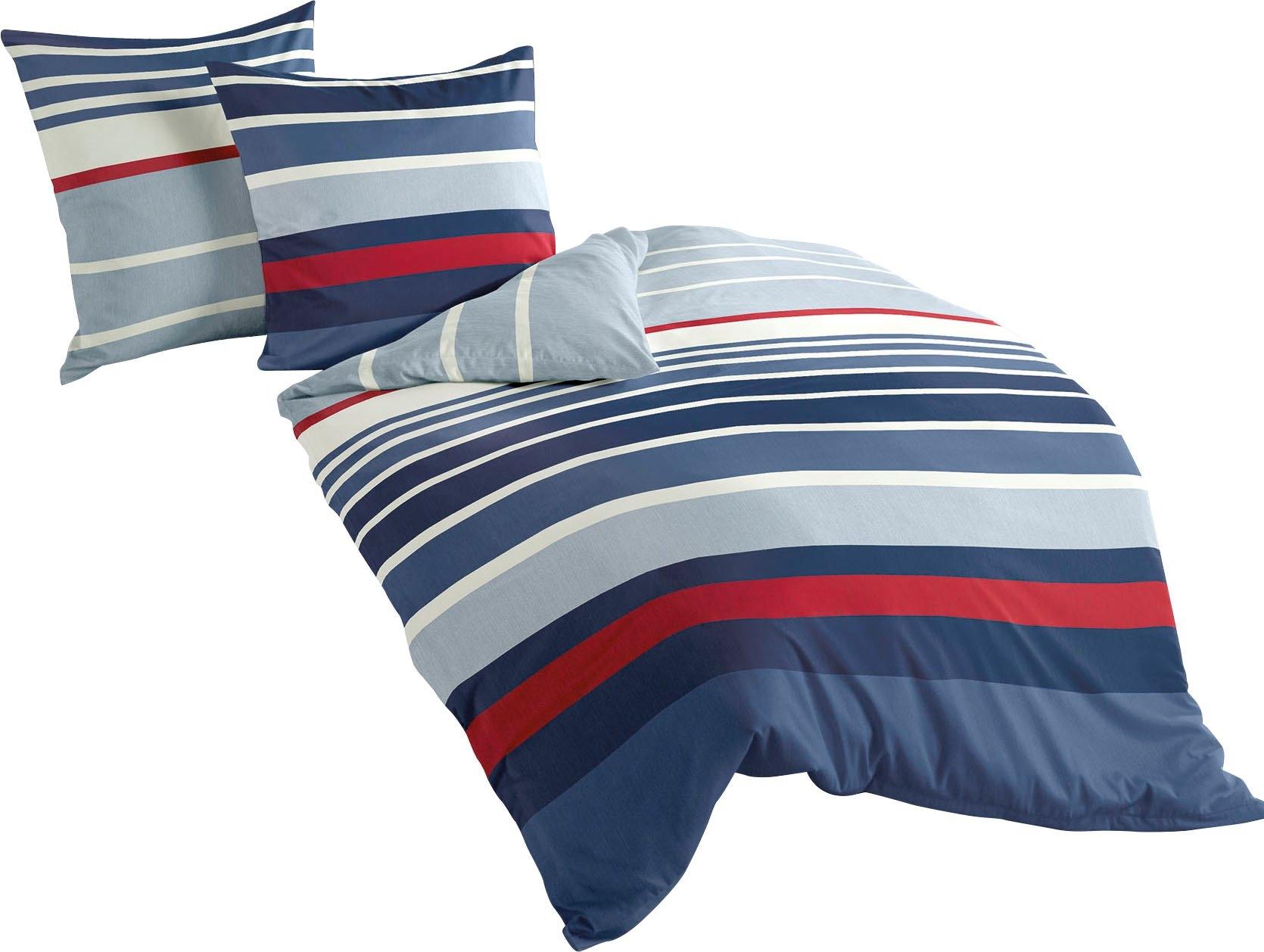 Op zoek naar een BIERBAUM overtrekset Blue stripes met strepen (2-delig)? Koop online bij OTTO