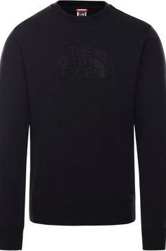the north face sweatshirt »drew peak« zwart