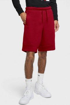 jordan sweatshort men's fleece short rood