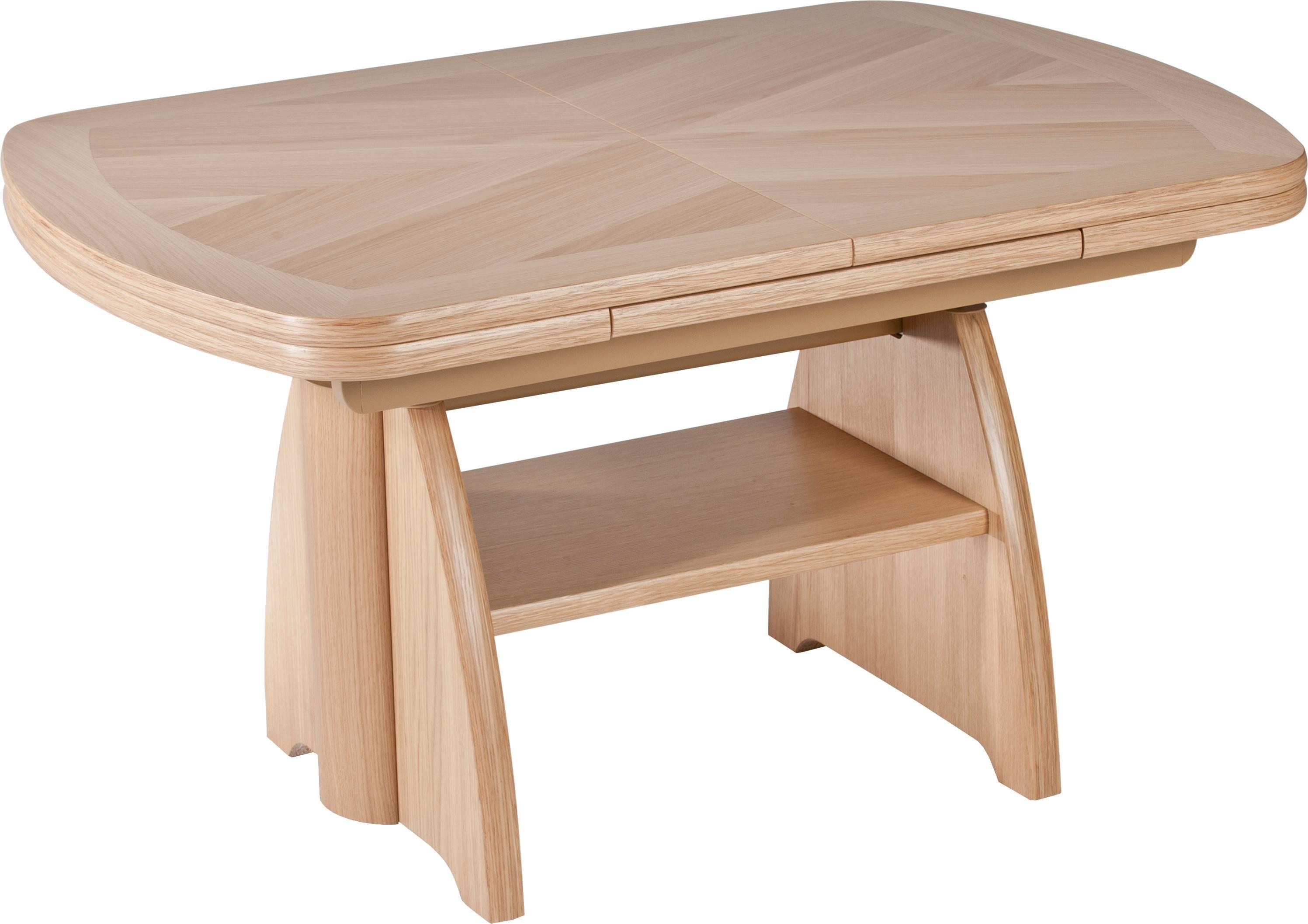 Vierhaus salontafel In hoogte verstelbaar en uittrekbaar - verschillende betaalmethodes