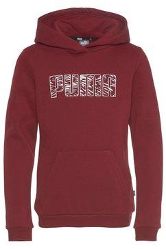 puma hoodie graphic hoodie rood