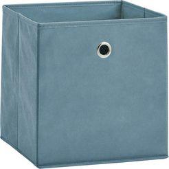 zeller present opbergbox opvouwbaar en snel opgeborgen (set, 2 stuks) blauw