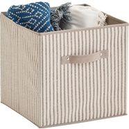 zeller present opbergbox »stripes« beige
