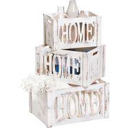 zeller present opbergbox »home« wit