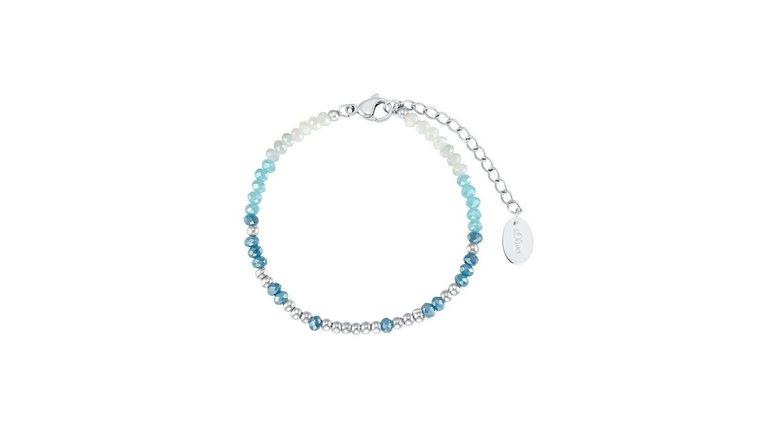 s.Oliver armband 2031478 met glaskraal