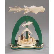 albin preissler kerstpiramide christi geburt (1 stuk) groen