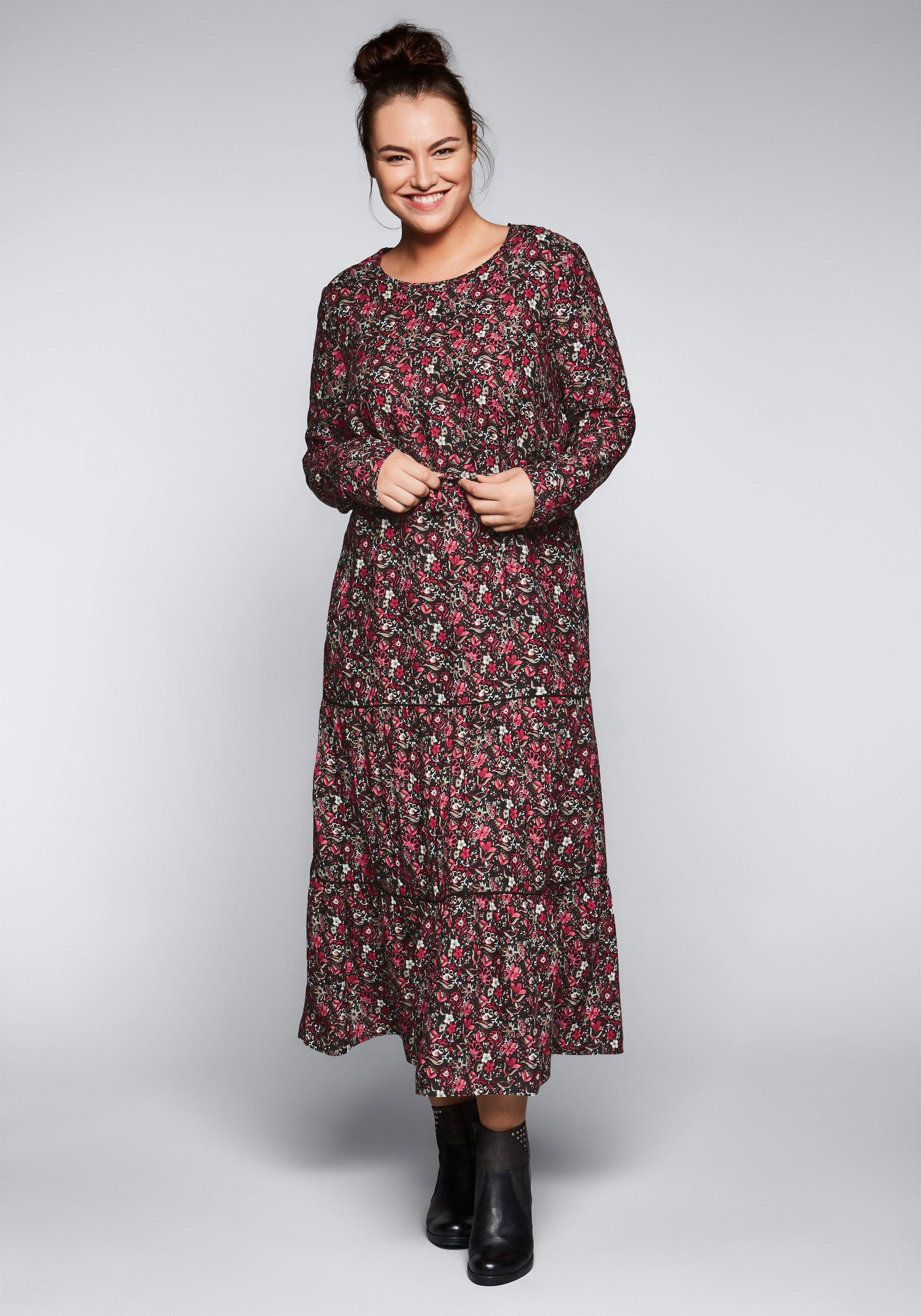 Sheego Casual gedessineerde jurk in de webshop van OTTO kopen