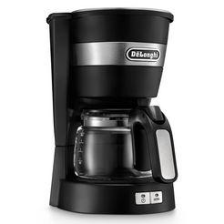de'longhi filter-koffiezetapparaat active line icm14011.bk, 0,65l koffiepot zwart