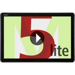 "huawei tablet »mediapad m5 lite 10"" lte 25,4 cm)« grijs"