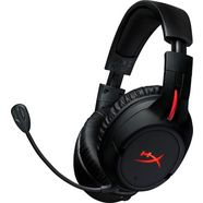 hyperx »cloud flight wireless« gaming-headset (radiosignaal, snoer, ruisonderdrukking, microfoon) zwart