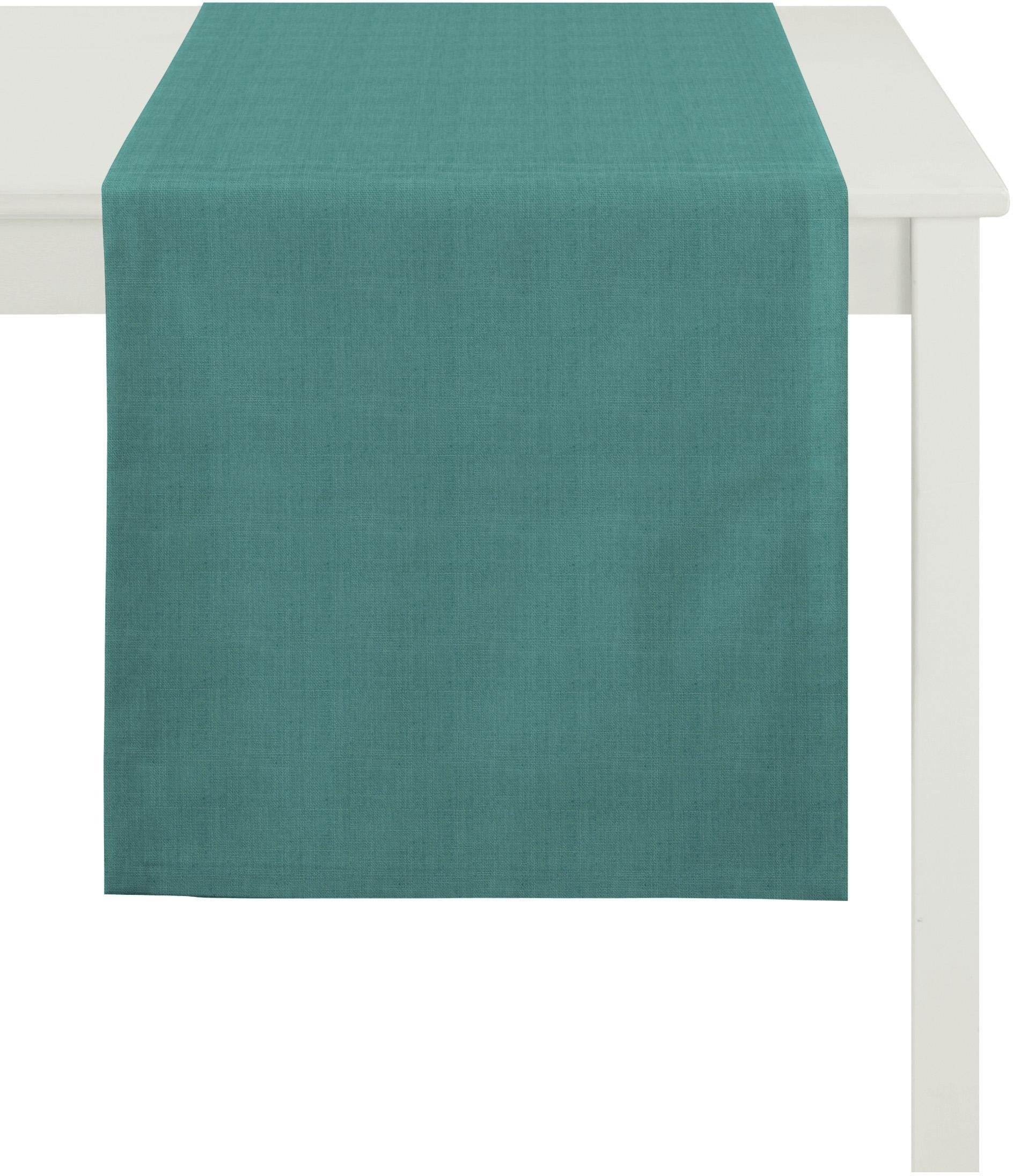 APELT tafelloper Arizona, Uni-Basic linnen-look (1 stuk) - gratis ruilen op otto.nl