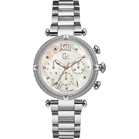 NU 15% KORTING: GC multifunctioneel horloge Gc CableChic, Y16001L1