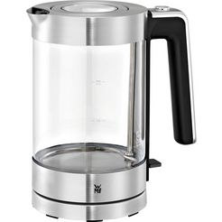 wmf waterkoker glas-lono, 1,7 l zilver