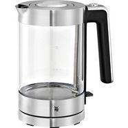 wmf waterkoker, lono, glas, 1,7 liter, 3000 watt zilver