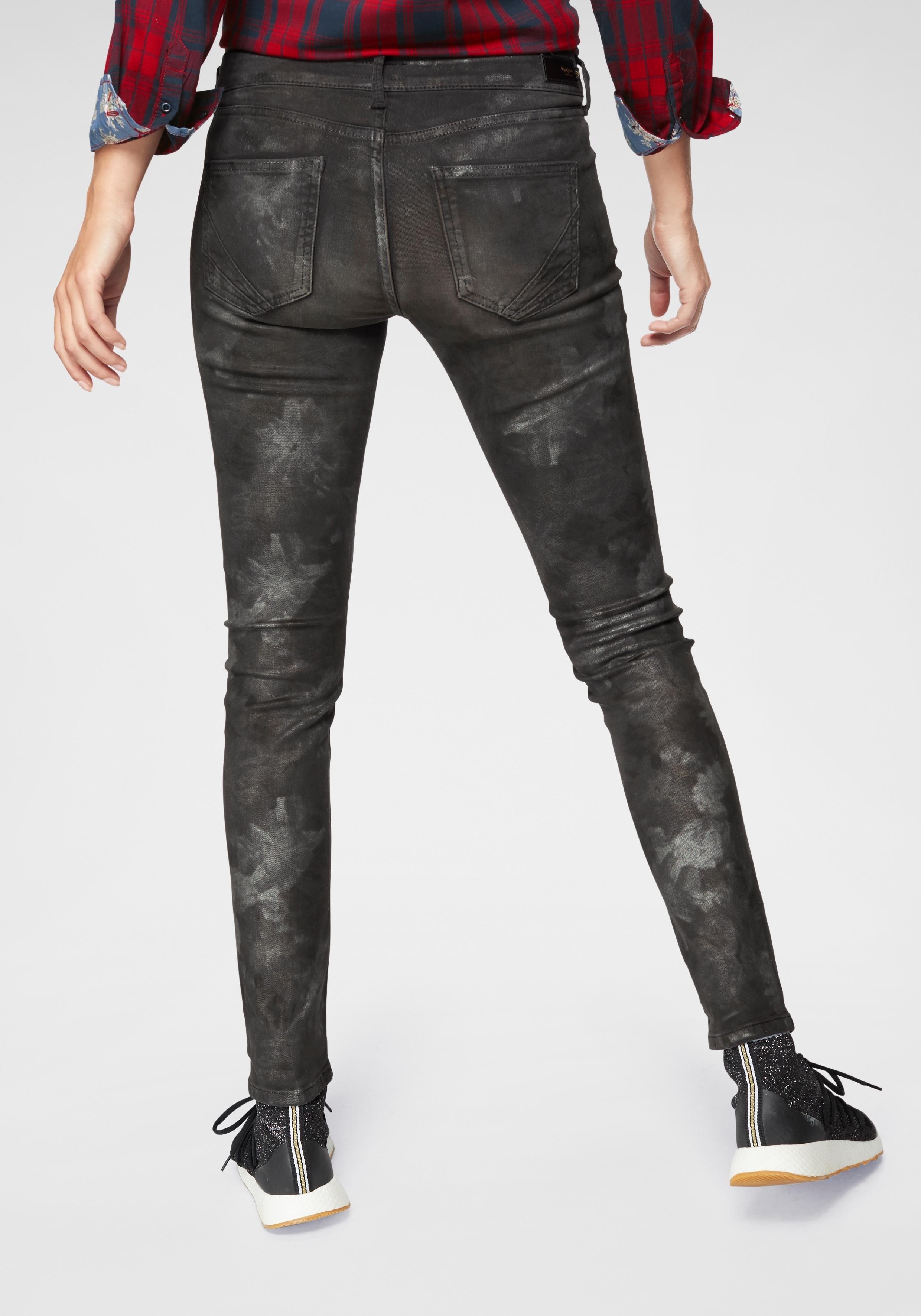 Pepe Jeans skinny fit jeans »PIXIE SILVER MOON« goedkoop op otto.nl kopen