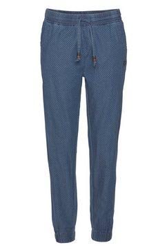 alife and kickin jogpants aliciaak c in jeans-look met elastan blauw