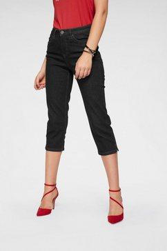 arizona capri jeans comfort fit zwart
