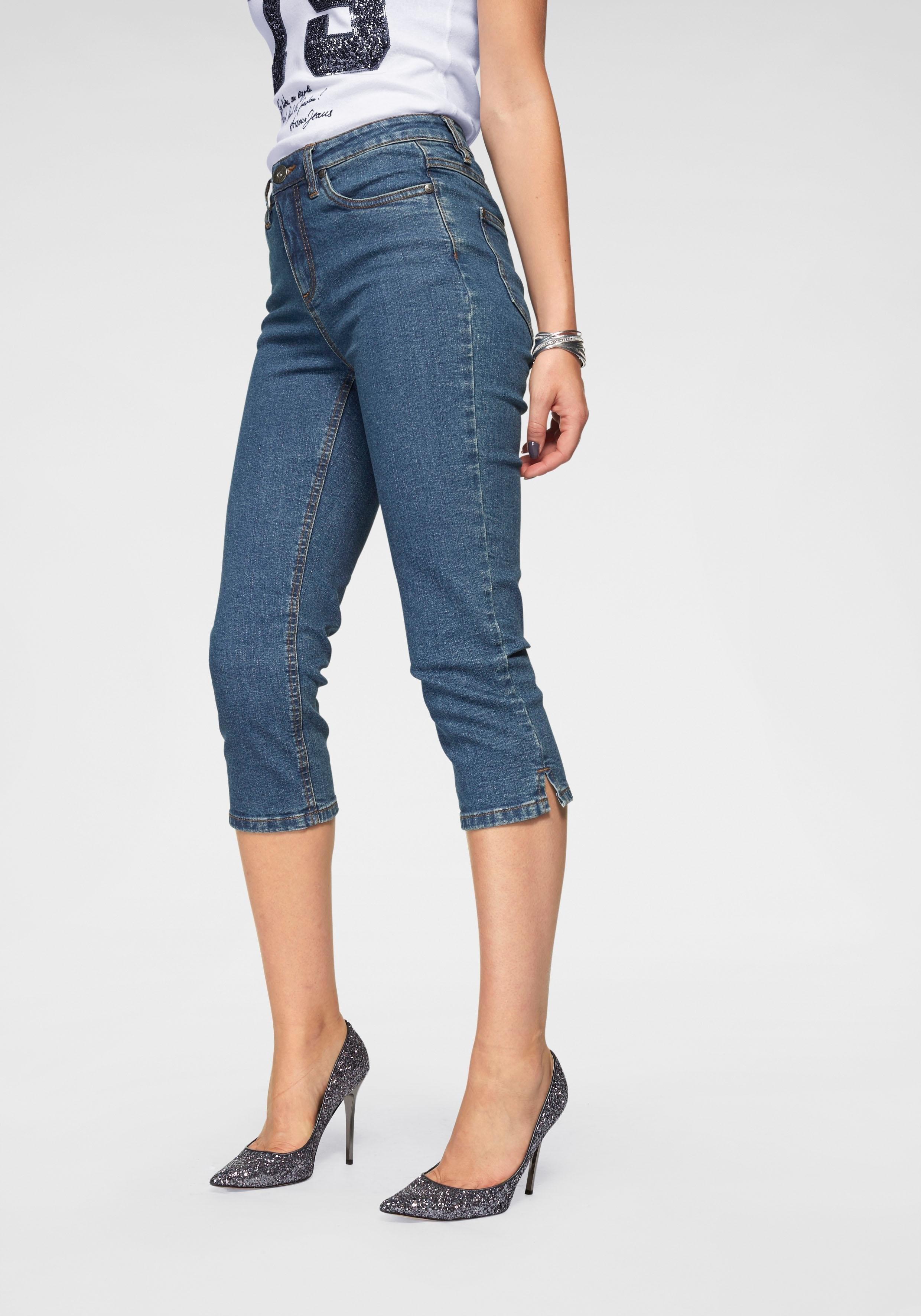 ARIZONA capri-jeans »Comfort-Fit« voordelig en veilig online kopen