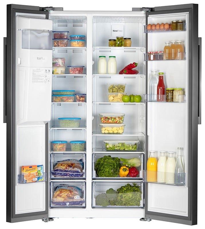 Beko Amerikaanse koelkast GN162320PT - verschillende betaalmethodes