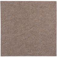 andiamo tapijttegel »rib«, 4 stuks (1 m²) zelfklevend in de kleur beige beige