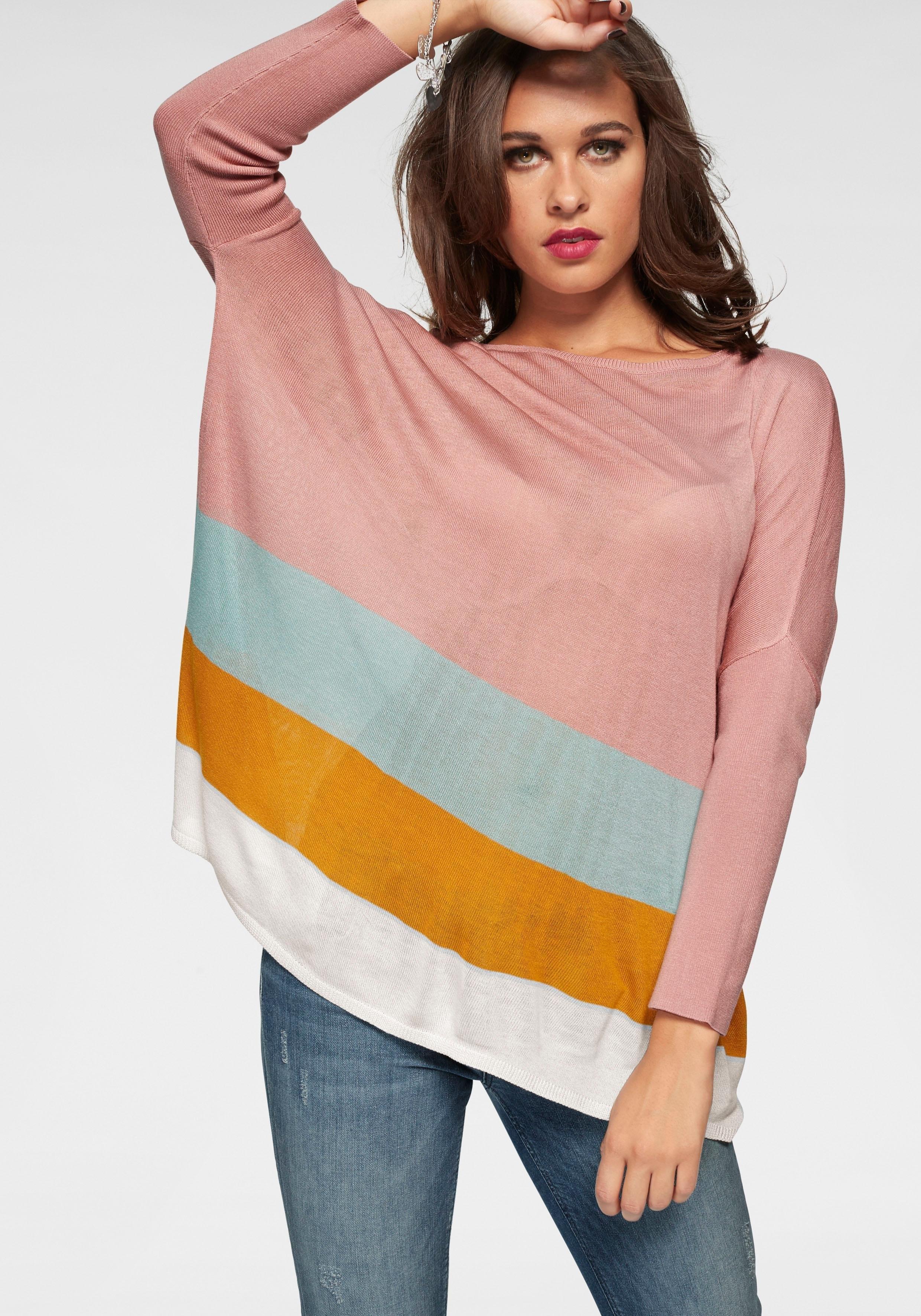 ONLY trui met 3/4-mouwen »TABAT« nu online kopen bij OTTO