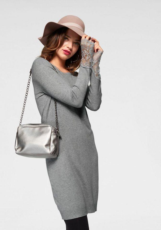 Vero Moda tricotjurk ADO GLORY grijs