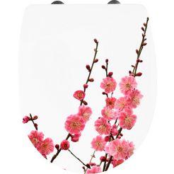cornat toiletzitting »kirschbluete« multicolor
