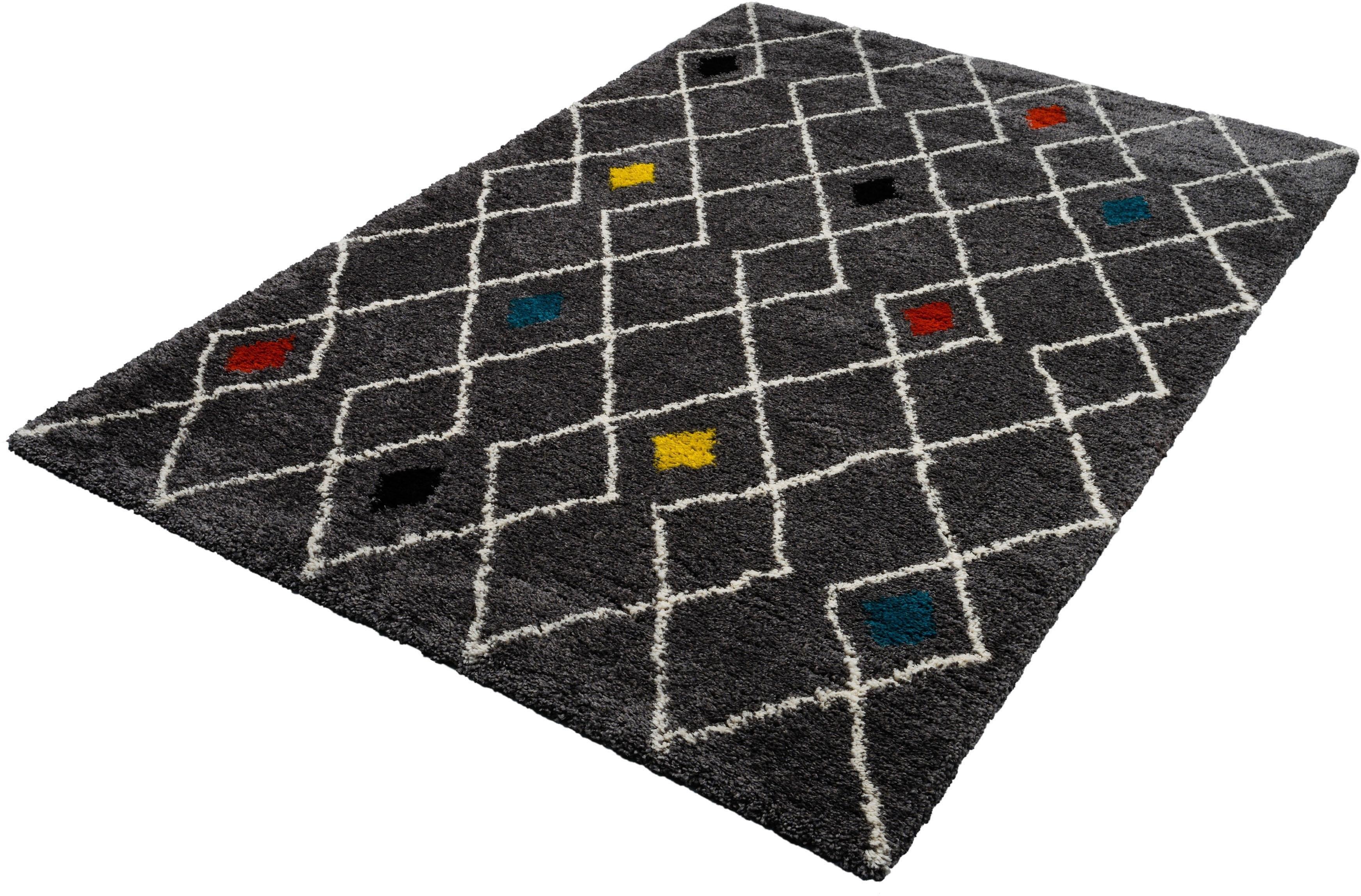 Trend Teppiche Hoogpolig vloerkleed, »Sahara 7914«, rechthoekig, hoogte 35 mm, machinaal getuft goedkoop op otto.nl kopen