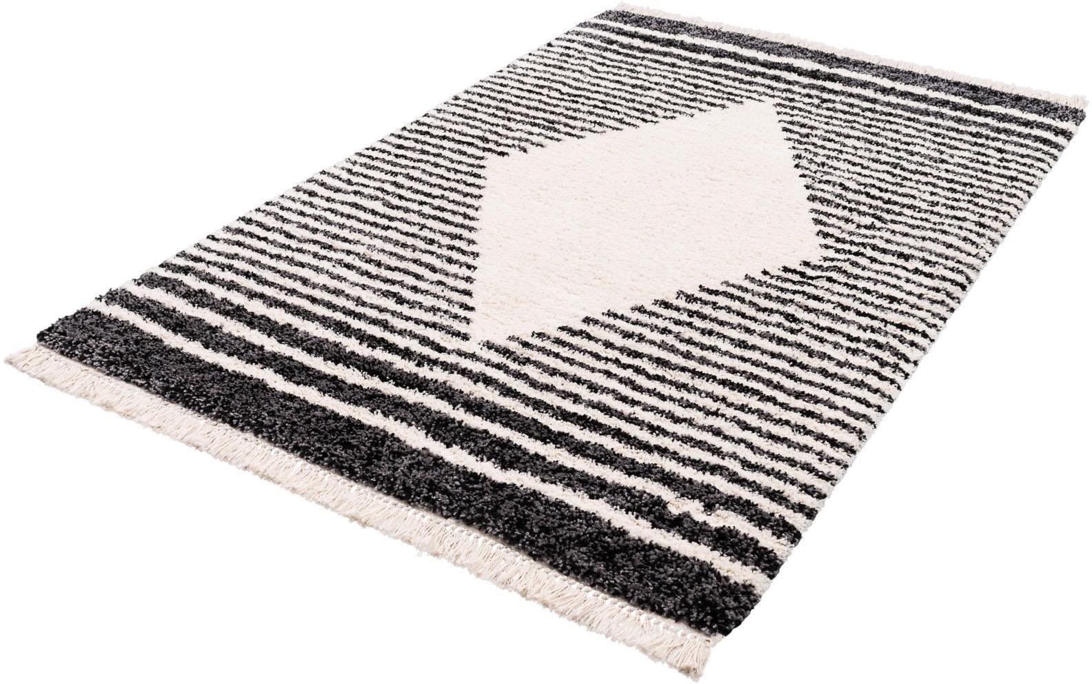 Trend Teppiche Hoogpolig vloerkleed, »Gipsy 8332«, rechthoekig, hoogte 35 mm, machinaal getuft bij OTTO online kopen