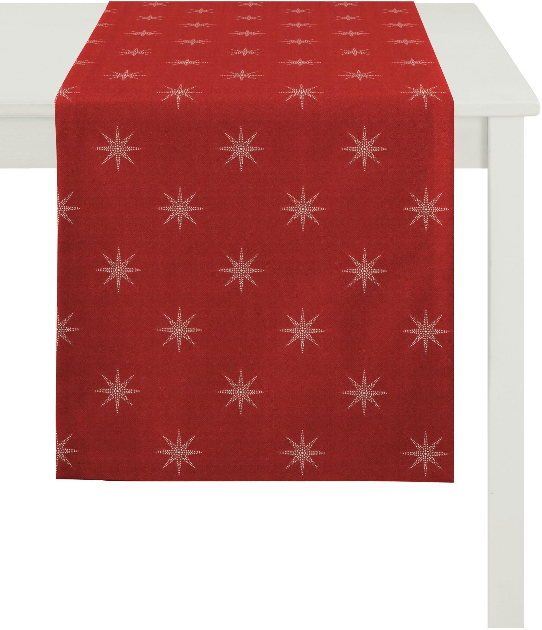 Apelt tafelloper »2607 Christmas Elegance, Jacquard« (1-delig) - verschillende betaalmethodes