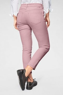 mac ankle jeans »slim chic« roze
