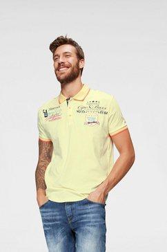 cipo  baxx poloshirt »rowing club« geel