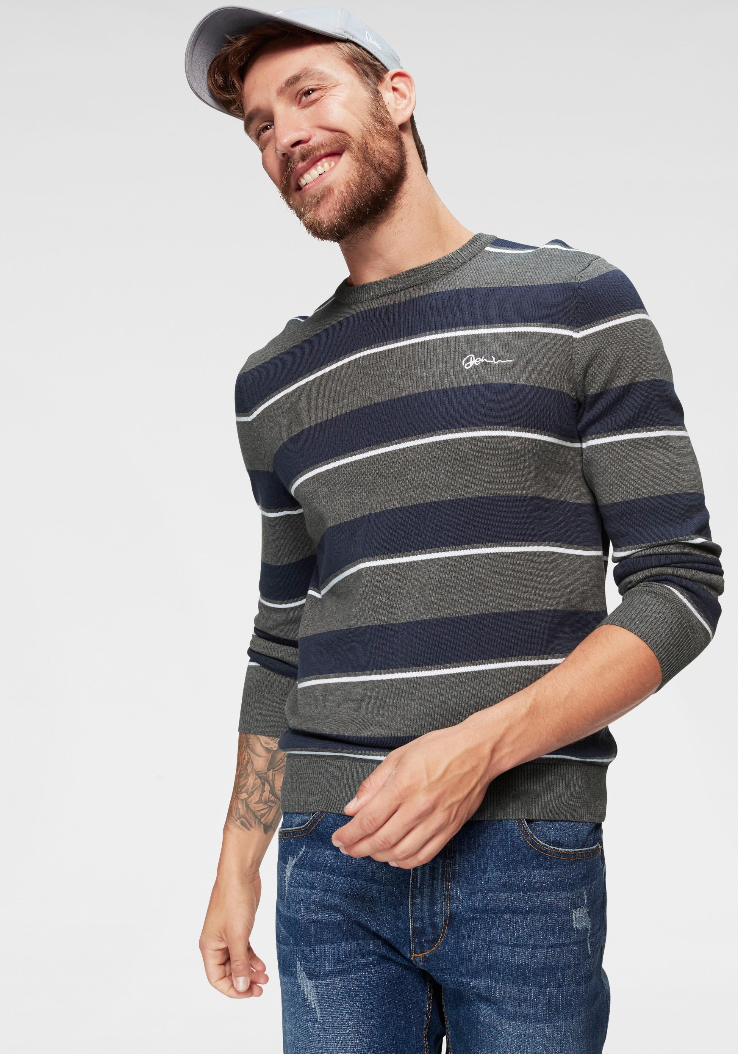 John Devin Tricot-trui met strepen nu online kopen bij OTTO