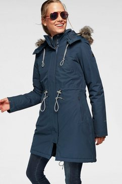 the north face wintermantel »zaneck parka« blauw