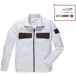 werkjas »extreme+«, 6 taschen wit