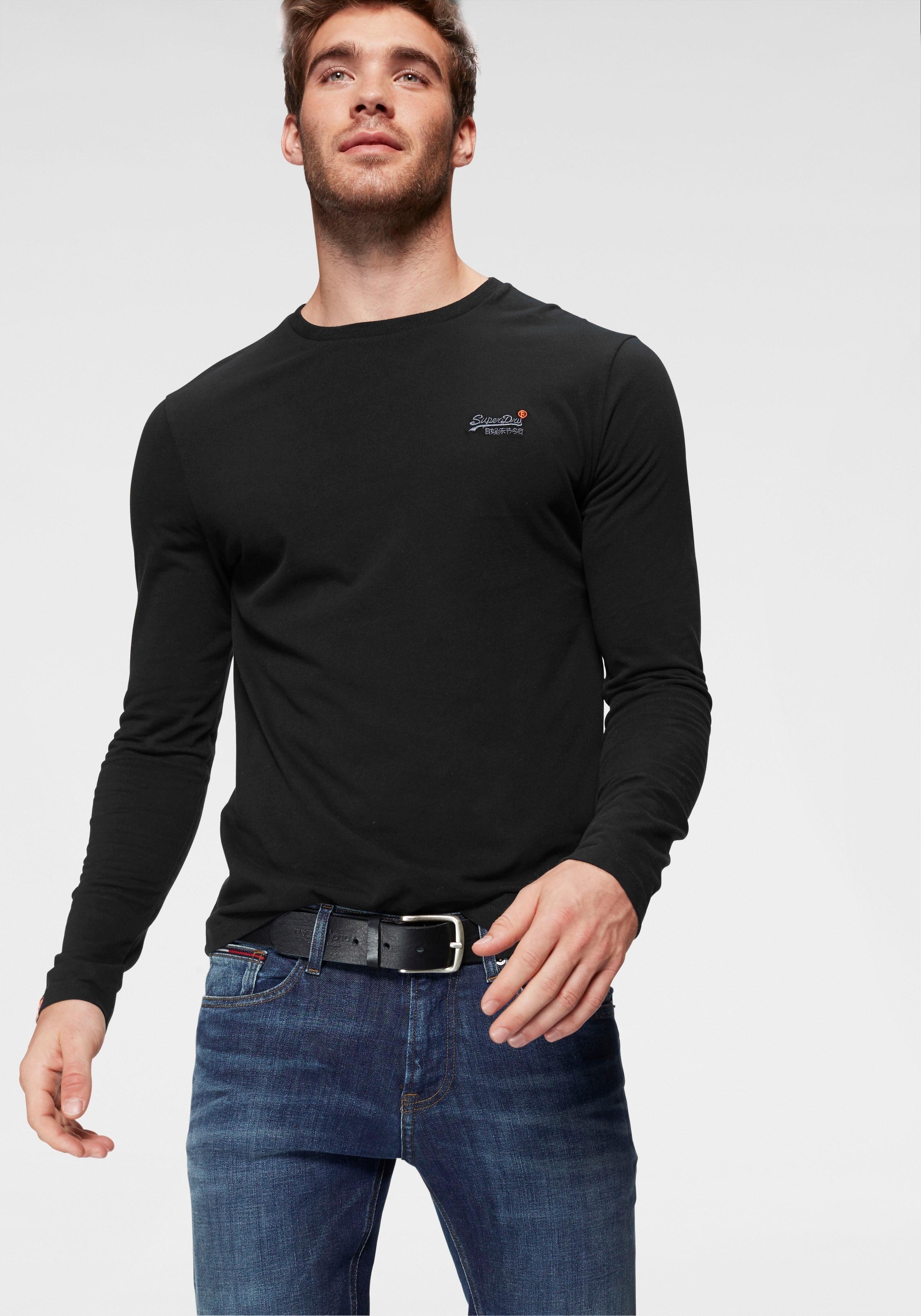 Op zoek naar een Superdry shirt lange mouwen »ORANGE LABEL L/S VNTGE EMB TEE«? Koop online bij OTTO