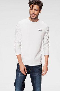 superdry shirt lange mouwen »orange label l-s vntge emb tee«