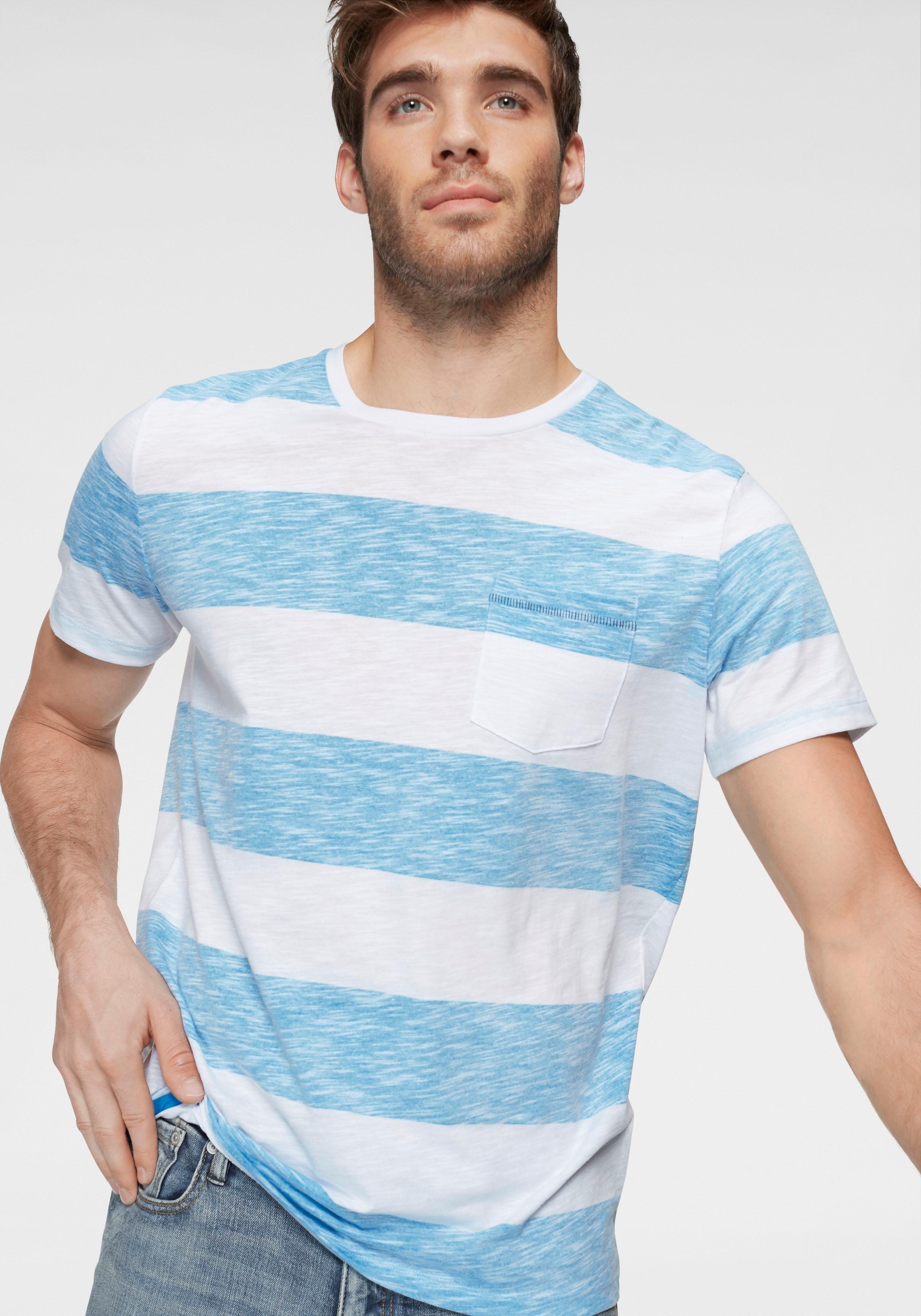 Jack & Jones T-shirt »STRAY TEE« - gratis ruilen op otto.nl