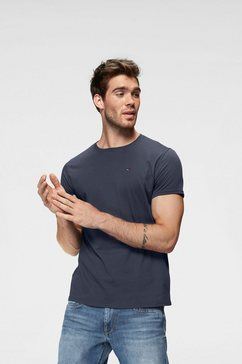 tommy jeans t-shirt tjm essential solid tee blauw
