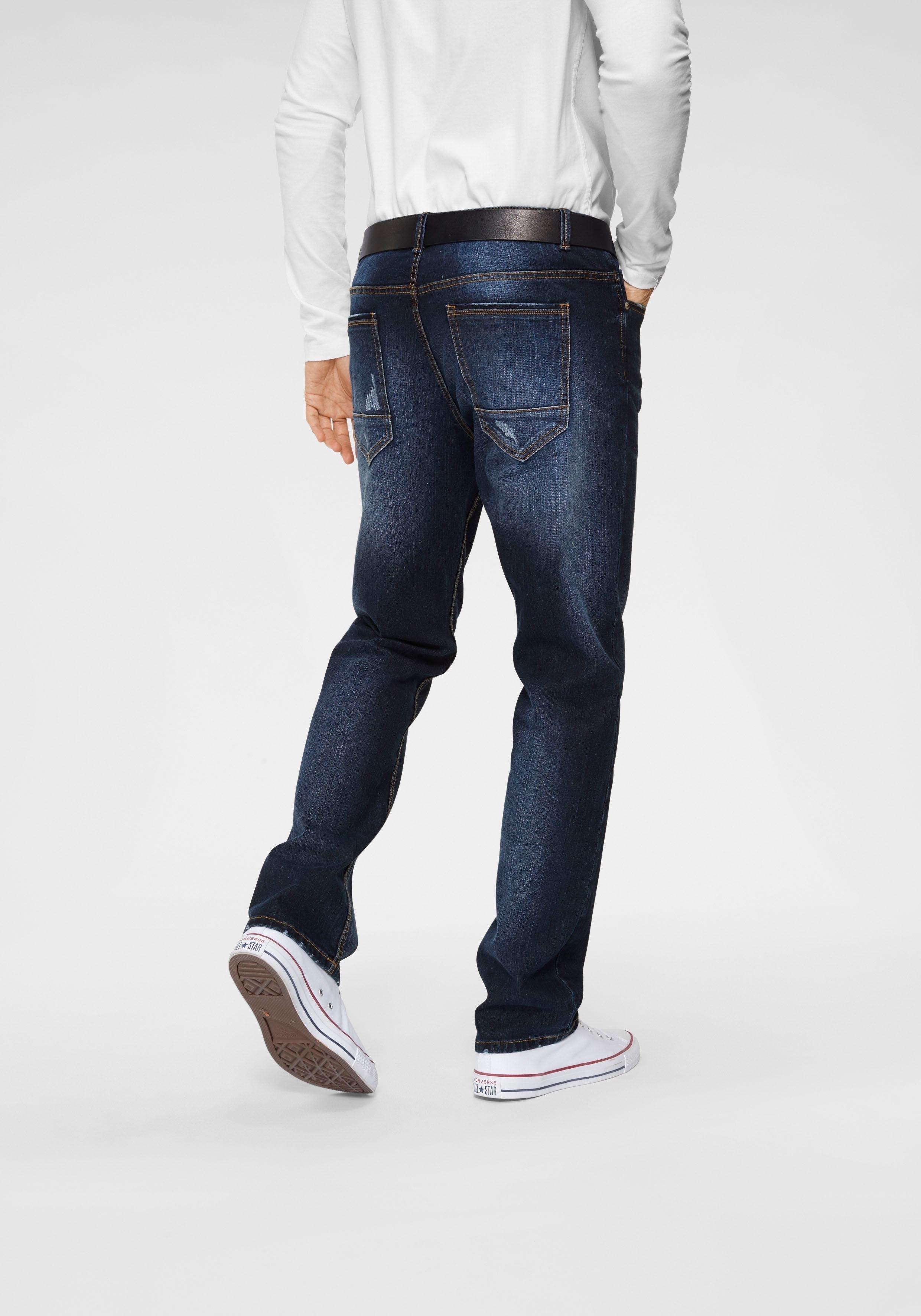 John Devin straight jeans met elastan online kopen op otto.nl