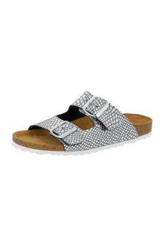 lico slippers »pantolette natural snake soft« zilver